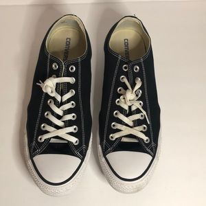 Converse Shoes - Men's Black and White Converse